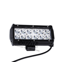 La double rangée d'IP67 6000K 6,5 pouces 36W a mené le guide optique pour la lumière de la voiture LED