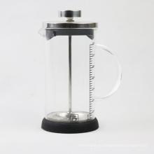 Set de émbolo de café de vidrio borosilicato