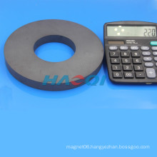 Ferrite ceramic large diameter ring magnets