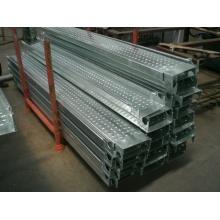 Andaimes galvanizados Prancha de aço para construção Gancho Galv Metal Plank