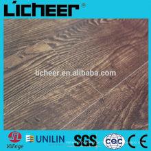 Revestimento de pisos laminados China centro em relevo superfície 8.3mm / fácil clique laminado piso