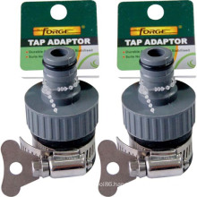 Garden Hose Fittings ABS Female Garden Water Tap Adaptor with Hose Clamp