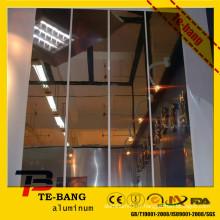 Miroir fini miroir en aluminium poli / miroir en aluminium parabolique feuille / réflecteur en aluminium pour l'éclairage des toits
