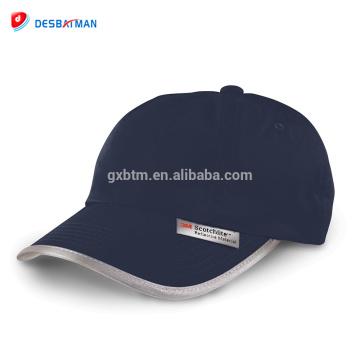 Hi vis high viz basball cap hat peaked visor reflective