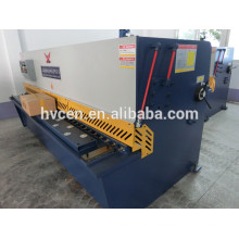 sheet steel cutting machine qc12y-12*2500/cutting machine for metal sheets