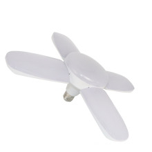 60w led deformable garage energy saving ceiling four-leaf fan blade adjustable beam angle led light bulb