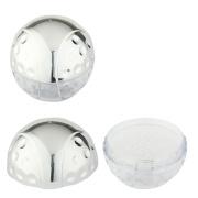 Ball Shape Loose Powder Compact Case