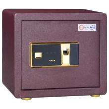 Tout en acier petit mur sécurisé coffre-fort batterie d'empreintes digitales coffre-fort
