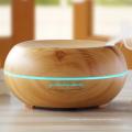 2018 Alibaba Más Vendidos Más Nuevo Difusor de Aceite Esencial Elegante Decoración Del Hogar Humidificador de Grano de Madera