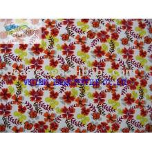 320T Pongee do poliéster impresso tecido para vestuário