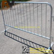 Barreras removibles galvanizadas Barreras de control de multitudes