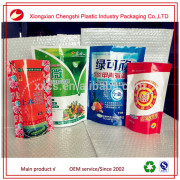 High quality gravure printing laminated heat seal plastic fertilizer packaging bag