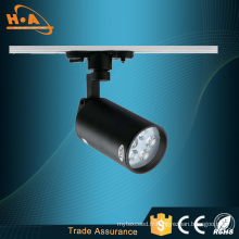 Haute CRI / Ra 5W / 7W / 12W COB LED Lampe de piste