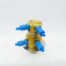 Pompe à pression à double tête résistante à l'usure à rotor court