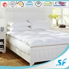 King Size colchón de plumas de pato gris pluma colchón de colchón baratos