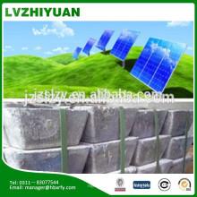99,65% min puro antimonio batería batería materias primas