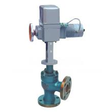Válvula de control de flujo de asiento único de ángulo accionado eléctrico (GZDLS)