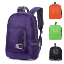 Foldable Bag with Two Shoulder Strap-MOQ 100PCS