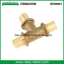 No Lead Brass Pex Equal Tee (PEX-015)