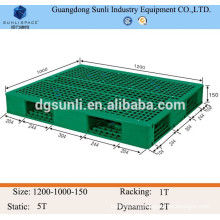 Hot sale Standard warehouse plastic pallet