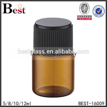 5 / 8 / 10 / 12ml cost price high quality glass bottle amber screw cap essential oil bottle glass vial bulk buy from china