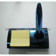 Magnettisch Kugelschreiber mit Notiz (LT-C229)