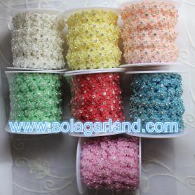 10Yard Per Roll Flower Rhinestone Flower Ribbon