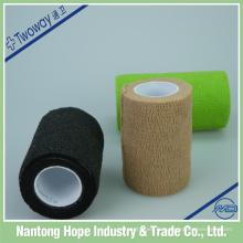 Bandage élastique auto-adhésif imperméable de couleur de haute qualité