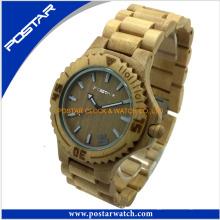 Популярные Часы Деревянные Часы Завод Часы Оптом