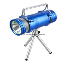 Alumínio recarregável de 3.7V LED Pesca Luz