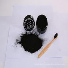 Natural dientes blanqueamiento polvo activado carbón de leña para la venta