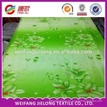 venta caliente hermosa tela de cama de algodón impresa reactiva 100% lecho conjunto de tela