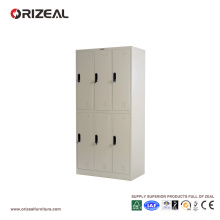 Armario de acero con seis puertas (OZ-OLK005) de Orizeal
