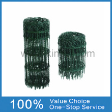 Garden Green Pvc Coated Border Fence