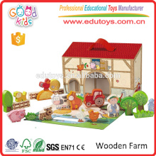 New Product Good Price and Luxurious Wood Farm Set for Baby