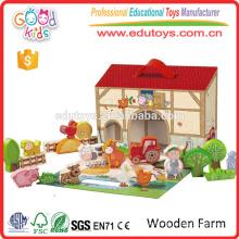 Новый продукт Хорошая цена и роскошная деревянная ферма для ребенка