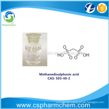 Methanedisulfonic acid, CAS 503-40-2 for electroplating