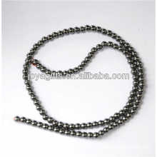 Hematite 4MM round loose beads for necklace,bracelet,earring