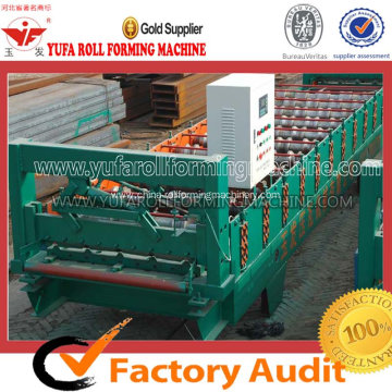 Customized for Roof Tile Roll Forming Machine Roof panel making machine supply to Estonia Manufacturer