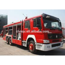 Hot professional 12CBM 6X4 fire fighting truck sales
