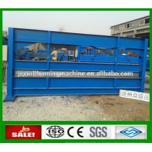 Metallblech Dachrinne 4m Hydraulische Biegemaschine