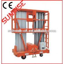Preço de fábrica 8 m plataforma de trabalho aéreo de alumínio portátil