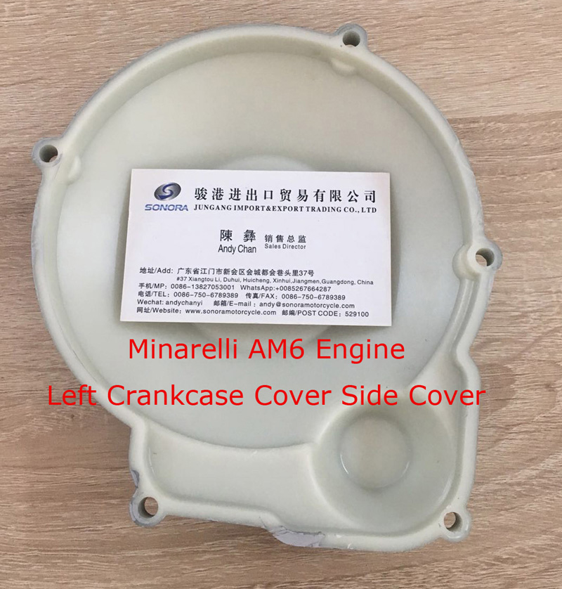 Minarelli AM6 Engine Left Crankcase Cover 2