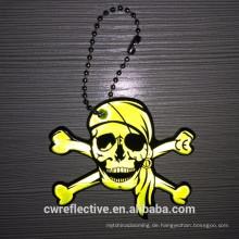 Werbe reflektierender Schlüsselring für Halloween-Geschenke