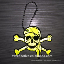 Promotional reflective keyring for Halloween gifts