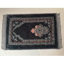 Super Soft Muslim Carpet Portable Printed Thick Rug Cheap Durable Raschel Prayer Mat
