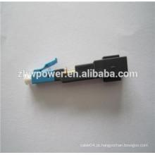 FTTH FC SC Modo único multi modo Acoplador rápido, Conector de montagem rápida, Conector rápido rápido de fibra óptica
