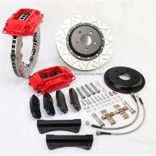 Systèmes de freinage de performance rouge pour voitures Prado Kit de freins de course WTR-F40 à 17 roues