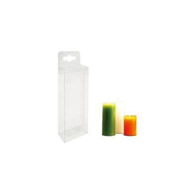 OEM изготовленная на заказ одноразовая прозрачная упаковка подарочной коробки из ПВХ