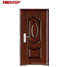 Colores de puerta de acero exterior baratos de la pantalla de la seguridad del metal TPS-047
